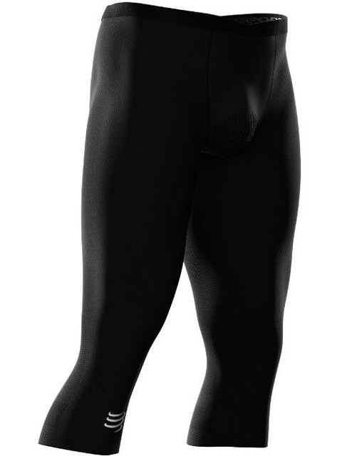Compressport Running Under Control 3/4 Pirate Pants Unisex Black